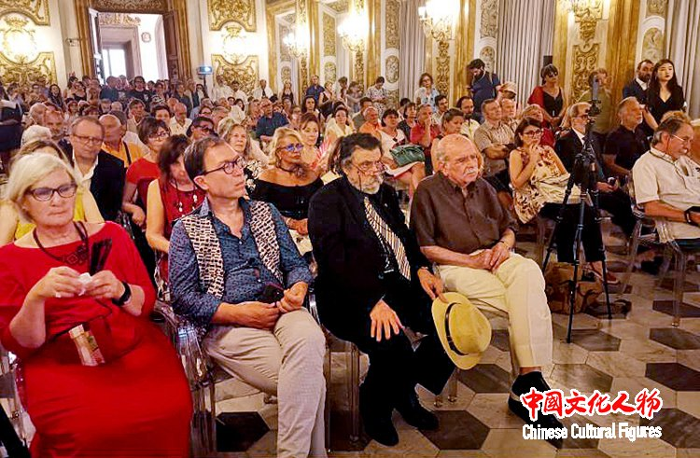 《大美至纯——韩玉臣西藏题材油画展》在意大利美第奇宫举办